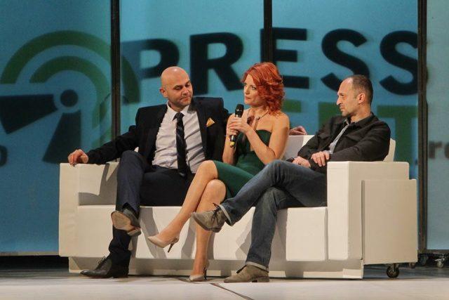 Claudia Ieremia, Ion Rizea si Ioan Ardeal Ieremia la pressalert live (3)
