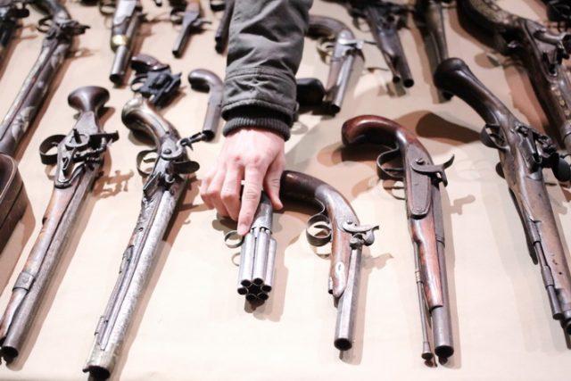 arme confiscate expozitie pistoale (25)