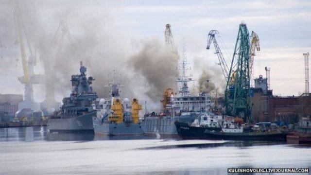 submarin incendiu bbc