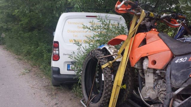 accident moto resita_ro