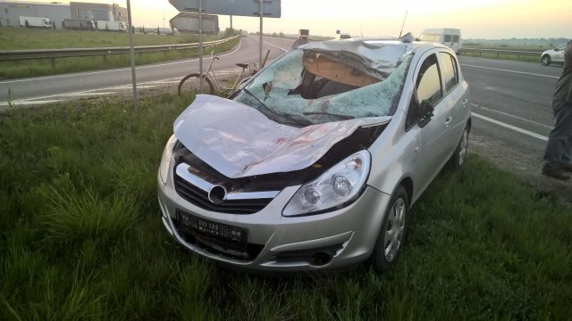 masina accident cal 2