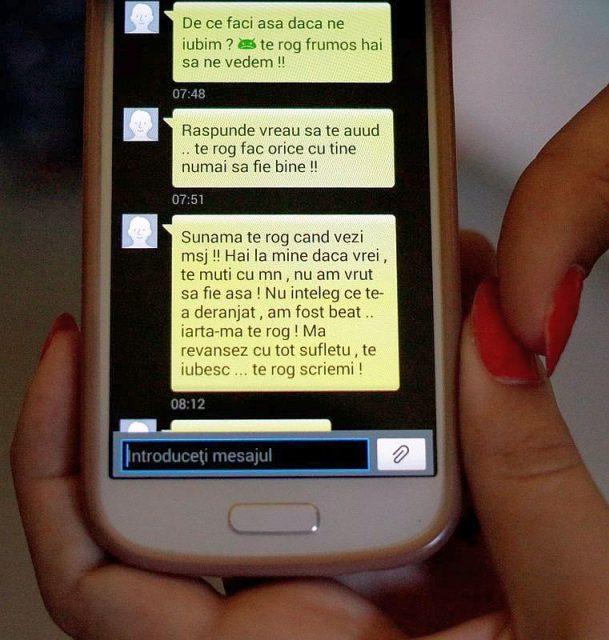 mesaje iubit violator