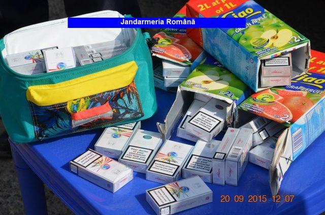 tigari in cutii de suc contrabanda