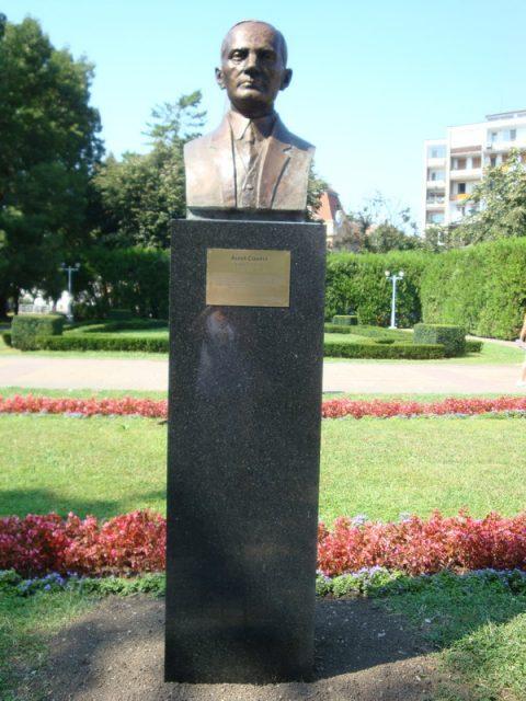 7. bust parcul central aurel cosma