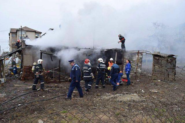 incendiu casa timisoara isu