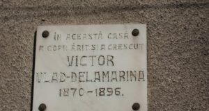placa memoriala lugoj victor vlad delamarina