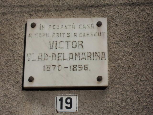 4. placa memoriala lugoj victor vlad delamarina