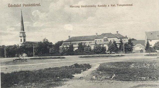 Castelul Dietrich-Schulkowski din Pâncota