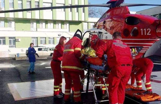 pacient resita elicopter