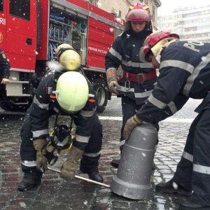 pompieri ranga piloni piata unirii