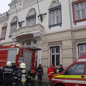 pompieri vicariatul sarbesc piata unirii (1)