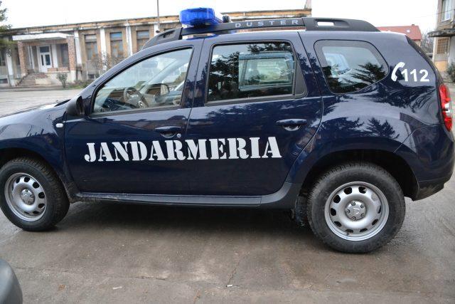 POZA DUSTER INTERVENTIE jandarmerie