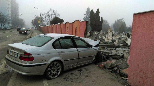 accident bmw cimitir calea sagului 1