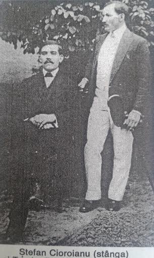 3. Stefan Cioroianu cu Teodor Bucurescu