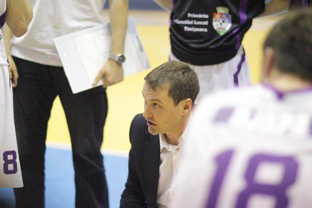 Nenad Mandic se așteaptă la un sezon mai bun cu BC SCM Timișoara