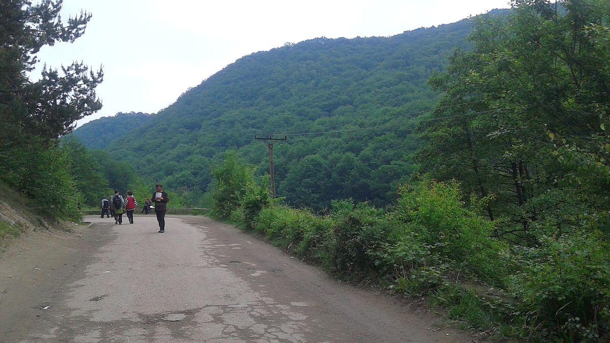 drum manastirea prislop