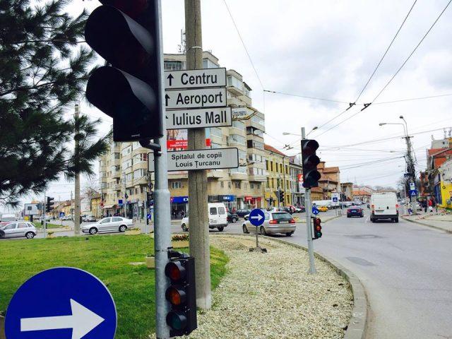 semafoare sens giratoriu calea sagului 1