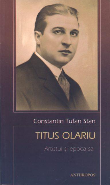 Titus Olariu. Artistul si epoca sa - coperta - 1