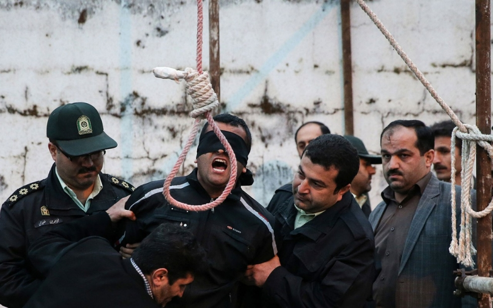 executie iran spanzuratoare