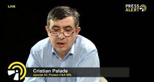 Cristian Palade, asociat la firma SC Proiect C&A SRL pressalert live timisoara