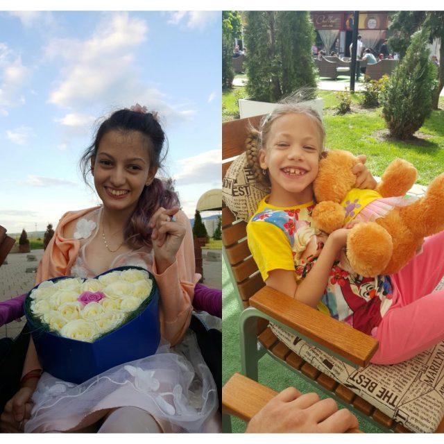 Aicha și Aleksandra au șanse să ducă vieți normale în urma terapiilor periodice la Barcelona