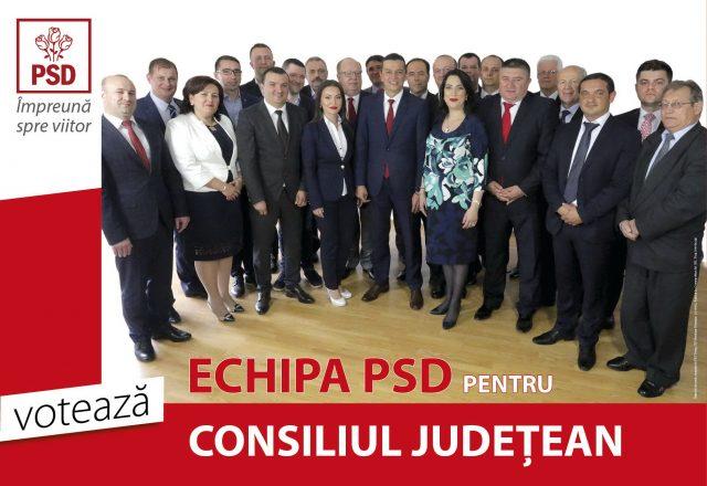 Consiliul Judetean - Echipa PSD