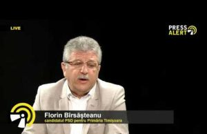 florin bîrsîșteanu pressalert live psd candidat primarie interviu