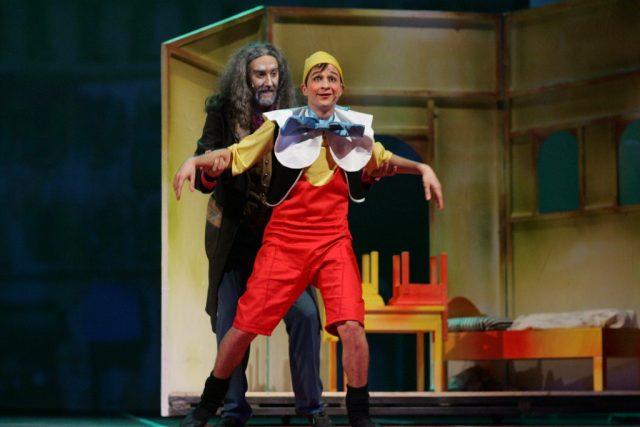 Spectacolul Pinocchio se joaca de 1 Iunie pe scena Teatrului Național Timișoara