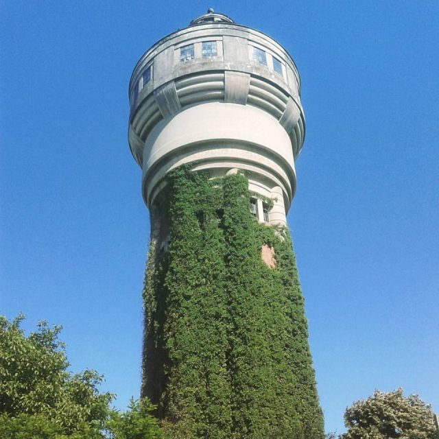 Turnul de apă din cartierul Fabric, Timișoara.