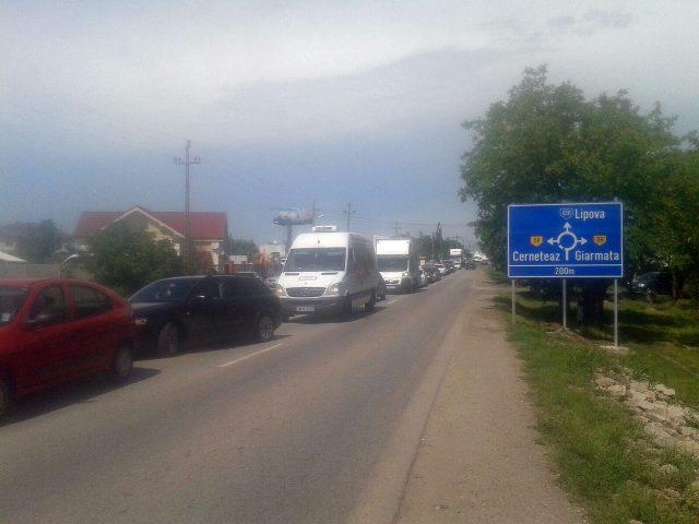 aglomeratie trafic giarmata (1)