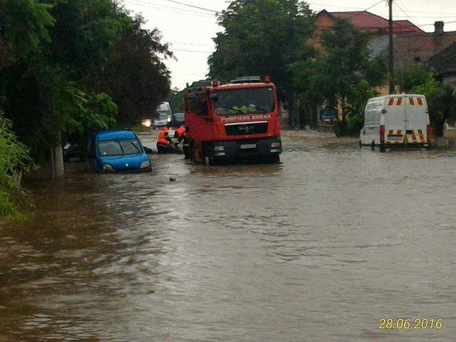 Inundații Bocșa
