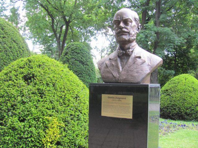 6. bust aleea personalitatilor Ormós Zsigmond