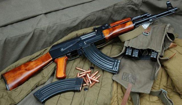 ak 47 arma automata mitraliera