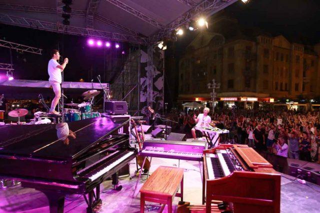 Canadienii de la Badbadnotgood au sus'inut un concert exatraordinar la Jazz TM