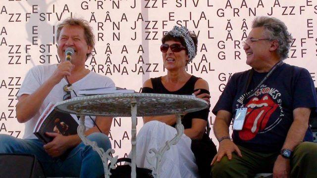 Adriana Cârcu a lansat volumul Jazz Stories în cadrul festivalului de jazz de la Gărâna