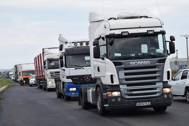 protest rca camioane mediafax