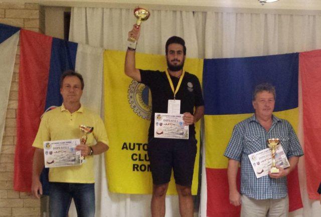 Marius Giurisici, locul 1 la Satu Mare