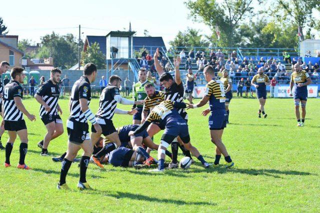 Victorie fără emoții pentru Timișoara Saracens. Foto: Facebook / Timișoara Saracens Rugby Club