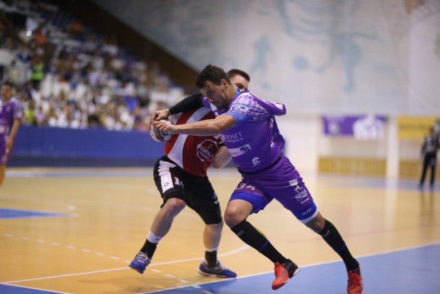 Cristian Fenici, în meciul din turul anterior