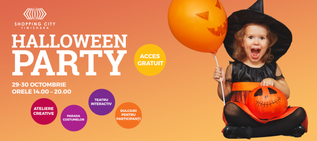 petrecere-halloween-copii-shopping-city-timisoara