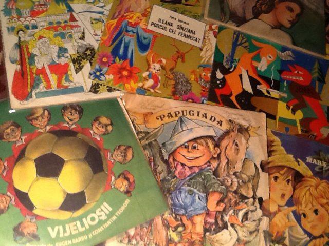 Expoziţia cu poveşti pe viniluri va putea fi vizitată timp de două săptămâni, la Timişoara