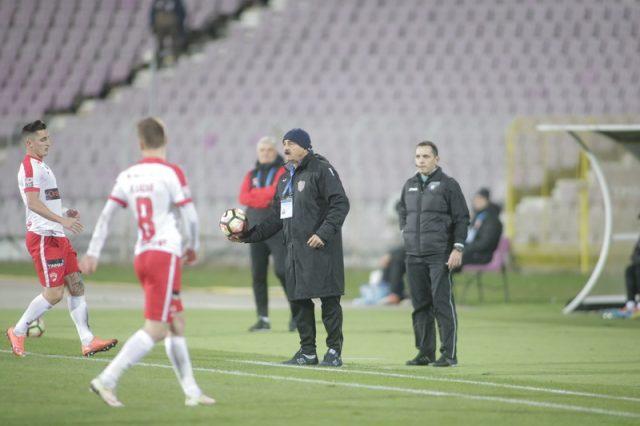 Ionuț Popa nu a avut o seară fericită. Foto: Adrian Pîclișan