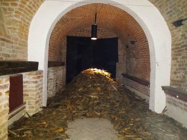 Şindrila bisericii de lemn din Crivina de Sus.