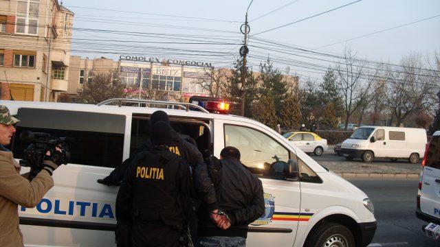 politia aresteaza suspect