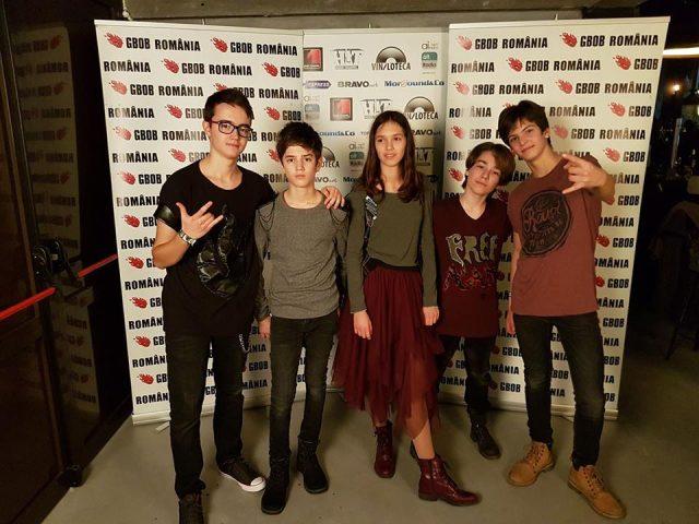 ALL Friends Band a câştigat locul patru în cadrul concursului naţional GBOB România