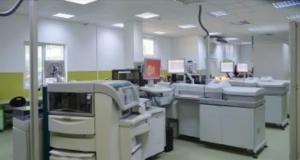 linie automata de efectuare a analizelor medicale
