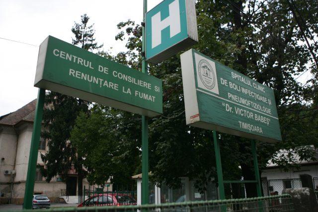 Spitalul de Boli Infecțioase din Timișoara in faliment solutie