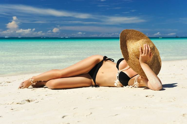 femeie datand de la plaja