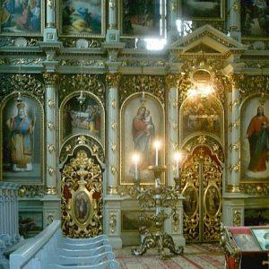 Biserica ortodoxă din Nădlac pictată de Ioan Zaicu