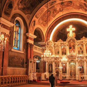 Iconostasul catedralei din Arad Ioan Zaicu